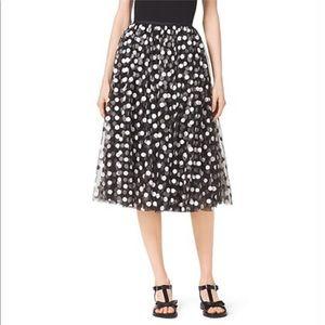 Michael Kors Collection- Embroidered Skirt